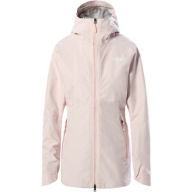 The North Face Hikesteller Chaqueta Parka Shell Mujer, pearl blush